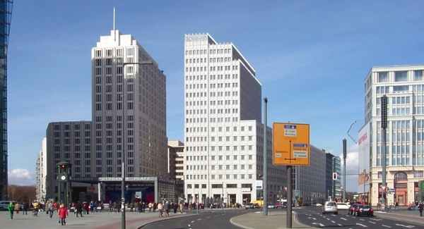 Beisheim Center mit dem Hotel Ritz Carlton am Potsdamer Platz
